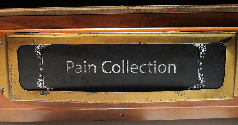 """Pain Collection"" – Museum of Wellington City & Sea, Wellington, NZ"