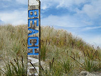 """beachaccess"" – Mangawhai heads, NZ"